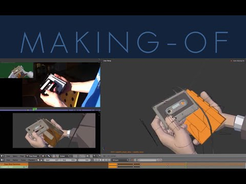 Making of: the cassette player animation