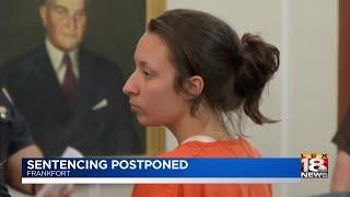 Sentencing Postponed