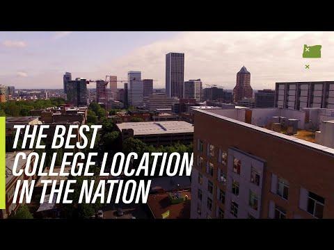 Portland State: Best College Location