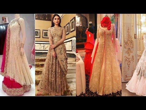 48839d103e5 latest Indian style party gown design ideas Beautiful gown design ideas for  wedding Dresses ideas