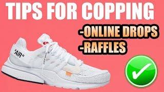 Tips For Copping The WHITE OFF WHITE PRESTO !   Raffles + Store List For The White Off White Presto