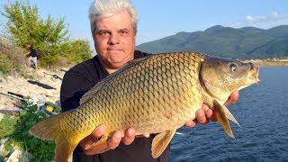 За едри риби на Тополово - част 1 / Carp and carassius pole & match fishing - part 1