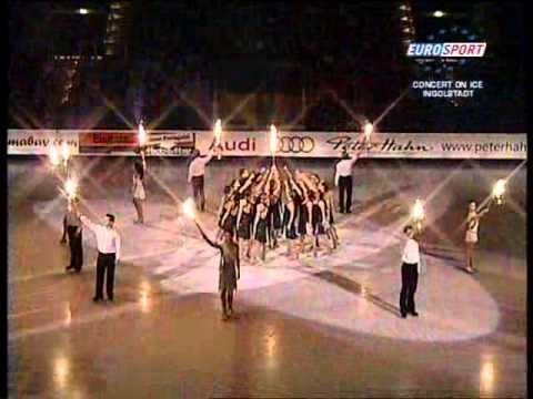 Elena Nuzman on Eurosport - Concert On Ice