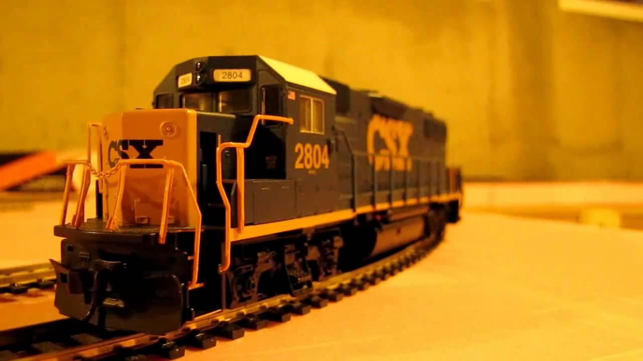 CSX and Amtrak Ho Model Trains