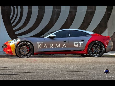 The 2020 Karma Revero GT Test Drive Acceleration 0 To 60 Mph - In Dept Review From Karma Miami