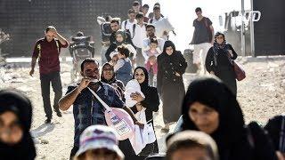 Турция хочет вернуть миллион беженцев в Сирию