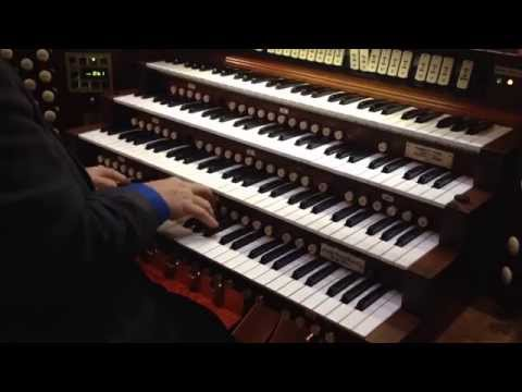 The Emperor's Fanfare, by Antonio Soler. Performed by Dr Phillip C Dodson.