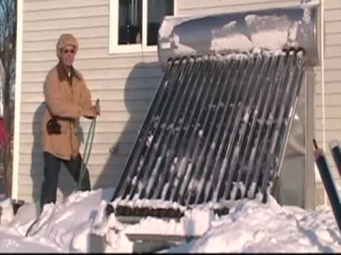Do It Yourself Compact Solar Water Heater Maintenance