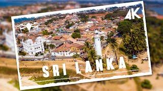 Flying over amazing Sri Lanka | Cinematic drone video in 4K