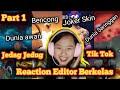 Reaction Vidio Jedag Jedug Tiktok Editor Berkelas Free Fire Part   Mp3 - Mp4 Download