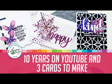 10-years-on-youtube-celebration-and-3-cards-to-make