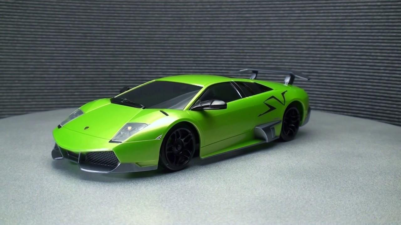 Mini Z Lamborghini Murcielago Lp670 4 Sv Pearl Green Mzp215pg Youtube