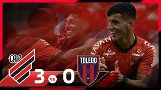 HAT-TRICK DO PEDRINHO! Athletico 3x0 Toledo | MELHORES MOMENTOS