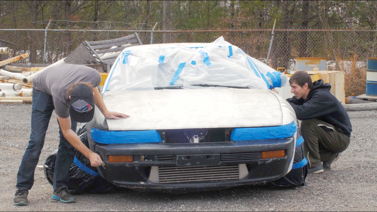 How Much Is A Car Paint Job >> Nissan 240sx 100 Paint Job How To Spray Paint A Car Properly