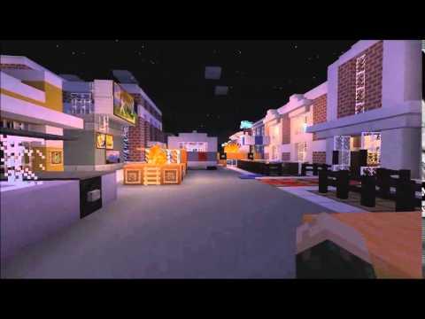 Minecraft Raccoon City Final Part Map Download