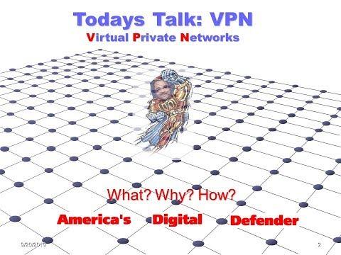 VPN 101 Conversation started