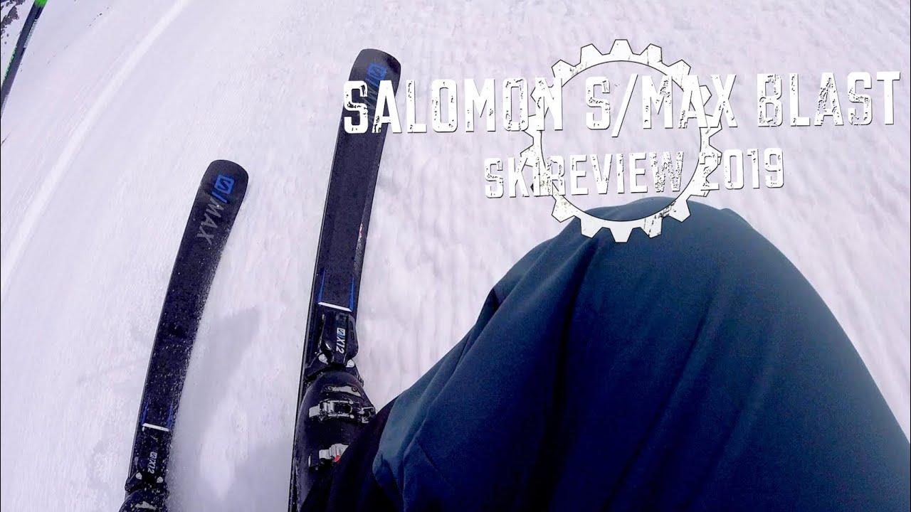 fdd9b1819e2 Review Salomon S/Max Blast 2019 Piste Ski - YouTube