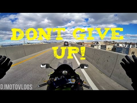Don't GIVE UP MOTOVLOGGING + WALTERRIFIC CRASH