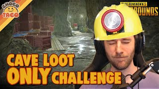 Fuzwuz Presents: The Cave Loot Challenge ft. Boom - chocoTaco PUBG Gameplay