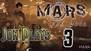 Mars War Logs Gameplay Walkthrough Part 3 Big Strong Moles! - Review Let