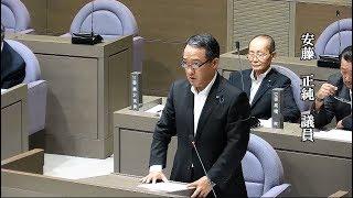 平成29年第7回9月定例議会 一般質問 安藤正純議員