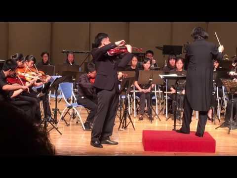 2016/5/31 Hao-Ning Hsu plays Sibelius Violin Concerto mov.I