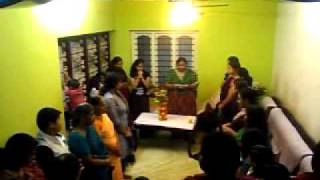 Nahida birthday - Prayer by Ranjini P R on the cultural event
