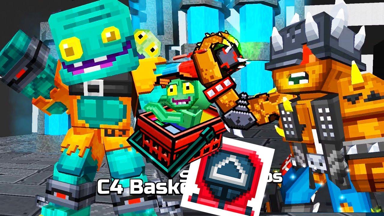 Download Pixel Gun 3D - UPDATE 21.8 - Mutated Season, Goliath Set, Zombie Clown VAN, Space Parasite Lottery