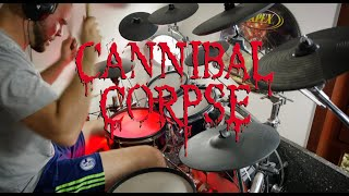 Cannibal Corpse - Kill or Become (drum cover)