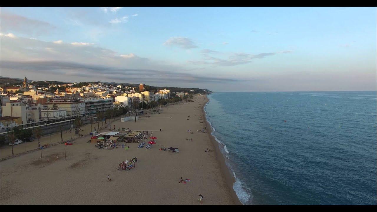 Canet de mar 4k youtube for Piscina canet de mar
