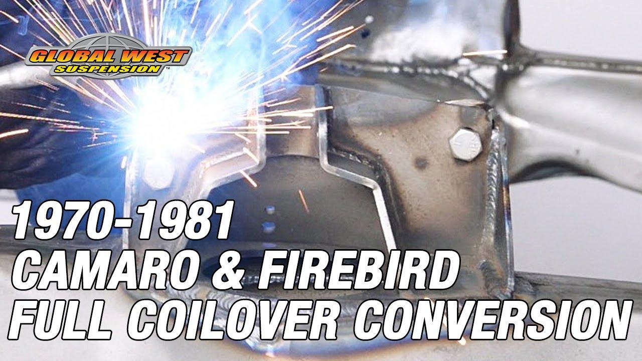 How to convert a 1970 - 81 Camaro/Firebird subframe to a full coilover