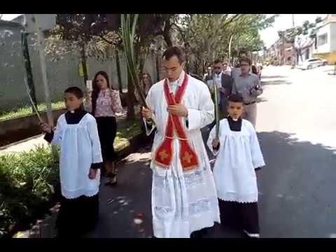 Procesión Domingo de Ramos 2018. R.P.  Mario Trejo.
