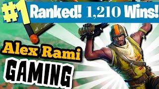 #1 WORLD RANKED 1,210 WINS! FORTNITE BATTLE ROYALE LIVE STREAM - SPONSOR GOAL 642/700