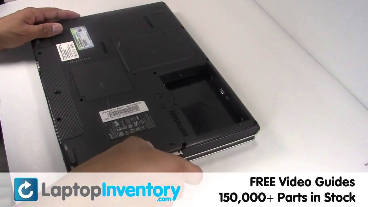 how to open acer laptop cd drive video
