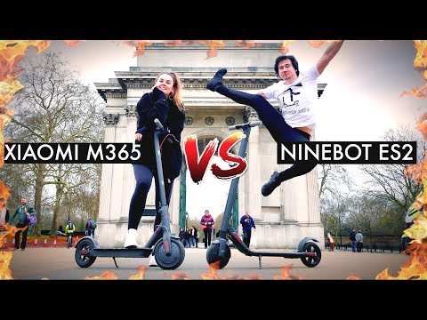 XIAOMI M365 VS NINEBOT ES2 🔥🛴 ULTIMATE ELECTRIC SCOOTER REVIEW