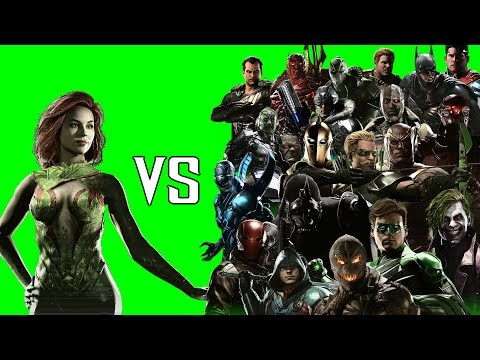 Poison Ivy VS The Boys - All Intro Dialogues | INJUSTICE 2