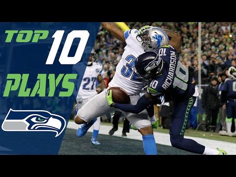 Seahawks Top 10 Plays of the 2016 Season   NFL Highlights