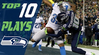 Seahawks Top 10 Plays of the 2016 Season | NFL Highlights
