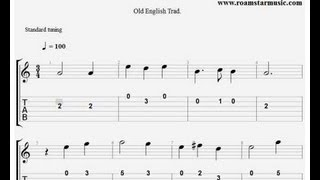 Scarborough Fair Guitar Pro tab