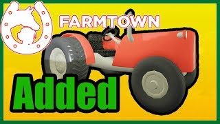 🔴LIVE: Testing the Tractor in Farmtown! [Roblox]