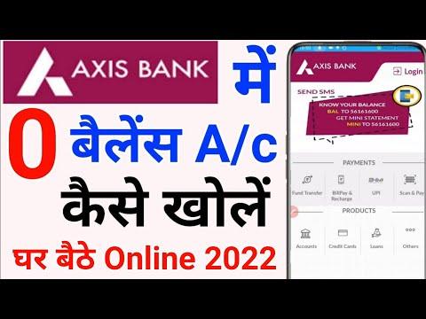 Axis Bank Zero