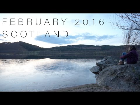 Glasgow/Inverness by train, Scotland - Travel Diary - February 2016