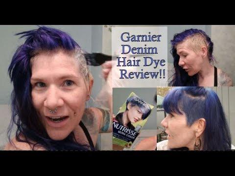 Garnier Nutrisse Light Cool Denim Blue Hair Dye Review