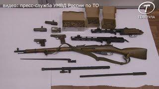 В Туле черный копатель хранил дома арсенал оружия