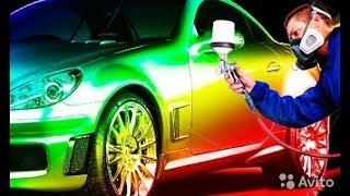 Покраска автомобиля своими руками в гараже (для глyхих)