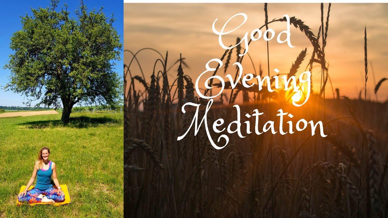 Evening Meditation- Letting Go - YouTube