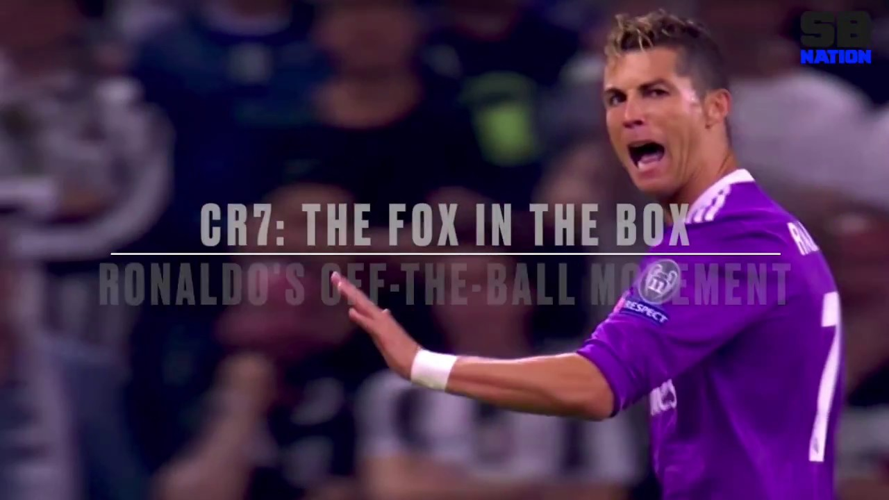 Cristiano Ronaldo The Fox In The Box Analysis Of Ronaldo S Off The Ball Movement Youtube