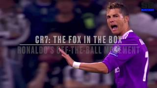 Cristiano Ronaldo | The Fox in the Box | Analysis of Ronaldo's Off-the-Ball Movement