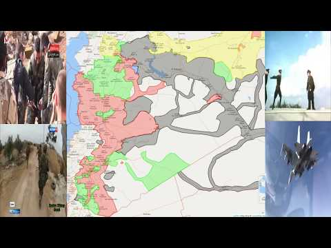 Syrian War Timelapse Since Russian Intervention - 18/09/2017