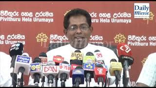 PHU to seek Court of Appeal assistance against Vijayakala